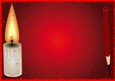 Fundo vermelho. Imagem de Stock Royalty Free