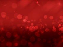 Fundo vermelho abstrato Imagens de Stock
