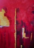 Fundo vermelho abstrato Foto de Stock