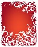 Fundo vermelho abstrato Foto de Stock Royalty Free