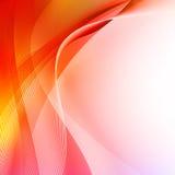Fundo vermelho abstrato Fotografia de Stock