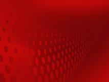 Fundo vermelho abstrato Fotos de Stock