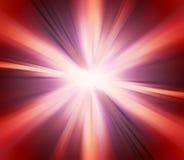 Fundo vermelho abstrato da explosão Imagens de Stock