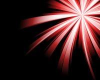 Fundo vermelho abstrato da tecnologia. Foto de Stock Royalty Free