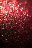 Fundo vermelho abstrato do brilho Imagens de Stock Royalty Free