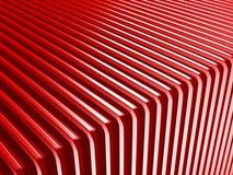 Fundo vermelho abstrato do projeto das listras Fotografia de Stock Royalty Free