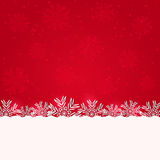 Fundo vermelho abstrato para o Natal Fotografia de Stock Royalty Free