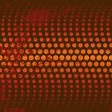 Fundo vermelho/alaranjado do círculo ilustração do vetor