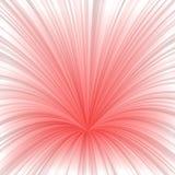 Fundo vermelho claro do projeto da explosão do sumário Fotografia de Stock