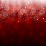 Fundo vermelho claro do sumário do feriado ilustração royalty free