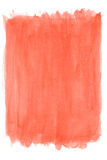 Fundo vermelho da aguarela Foto de Stock