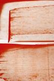 Fundo vermelho da aquarela de Brown Imagem de Stock