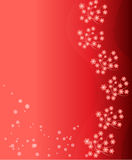Fundo vermelho da flor Foto de Stock