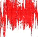 Fundo vermelho da grade Ilustração do Vetor