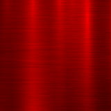 Fundo vermelho da tecnologia do metal ilustração stock