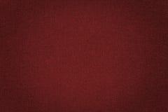 Fundo vermelho da textura da tela Fotos de Stock Royalty Free