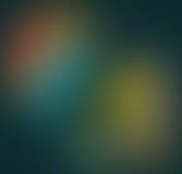 Fundo vermelho de Defocus, amarelo e verde obscuro da natureza Foto de Stock
