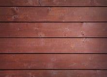 fundo vermelho de madeira velho Fotografia de Stock Royalty Free