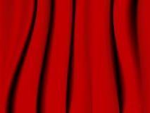 Fundo vermelho de matéria têxtil Imagem de Stock