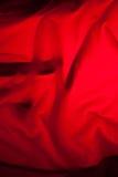 Fundo vermelho de pano Imagem de Stock Royalty Free
