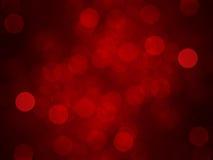 Fundo vermelho do bokeh Imagens de Stock