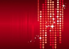 Fundo vermelho do feriado Foto de Stock Royalty Free