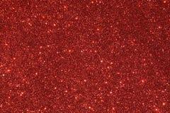 Fundo vermelho do glitter foto de stock royalty free