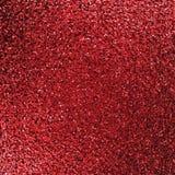 Fundo vermelho do glitter Fotografia de Stock