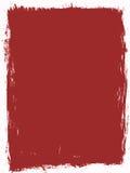 Fundo vermelho do grunge ilustração stock