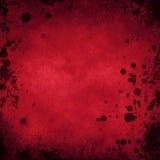 Fundo vermelho do Grunge Foto de Stock