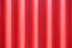 Fundo vermelho do metal Fotografia de Stock