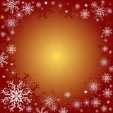 Fundo vermelho do Natal ilustração do vetor