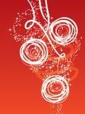 Fundo vermelho do Natal Foto de Stock Royalty Free