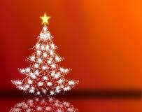 fundo vermelho do Natal Imagens de Stock