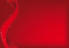 Fundo vermelho do Natal Foto de Stock