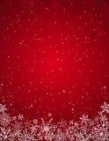 Fundo vermelho do Natal,   ilustração royalty free