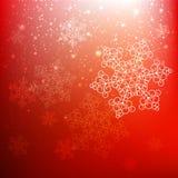 Fundo vermelho do Natal Imagem de Stock
