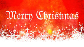 Fundo vermelho do Natal Imagens de Stock Royalty Free