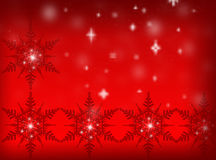 Fundo vermelho do Natal Fundo do ano novo Foto de Stock