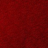 Fundo vermelho do ornamento da flor Imagens de Stock