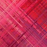 Fundo vermelho do pulso aleatório Fotos de Stock