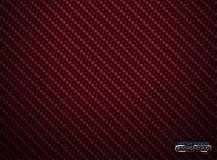 Fundo vermelho do volume da fibra do carbono do vetor Papel de parede material de pano abstrato da decoração com sombra para o aj ilustração stock