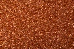 Fundo vermelho dourado da textura do brilho Foto de Stock Royalty Free