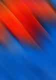 Fundo vermelho e azul brilhante ilustração do vetor