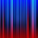 Fundo vermelho e azul listrado abstrato Imagem de Stock