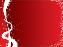 Fundo vermelho e branco Foto de Stock