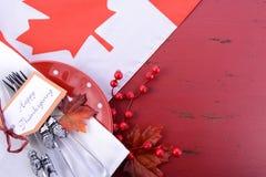 Fundo vermelho e branco da ação de graças do tema Imagem de Stock