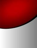 Fundo vermelho e cinzento Fotos de Stock
