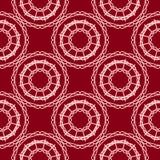 Fundo vermelho e cor-de-rosa sem emenda do teste padrão para o design web Fotografia de Stock Royalty Free