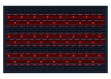 Fundo vermelho e preto Fotos de Stock Royalty Free